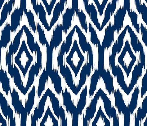 print fabric ikat print fabric by the yard navy and white