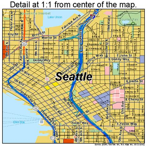 seattle freeway map seattle highway map 28 images road map of seattle