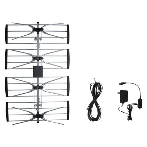 electronic master outdoor tv antenna  booster ant