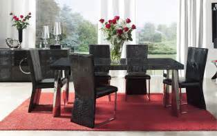 Black Modern Dining Room Sets Modern Dining Room Sets Finest Dining Room Formal Dining