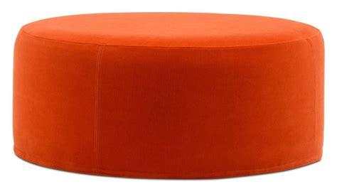 Orange Round Ottoman 28 Images Custom Orange Round