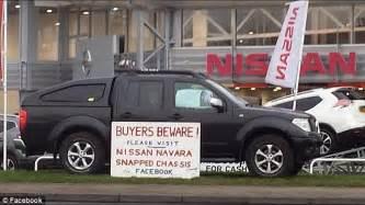 Nissan Navara Chassis Problems Nissan Is Urged To Recall Its Popular 4x4 Navaras Daily