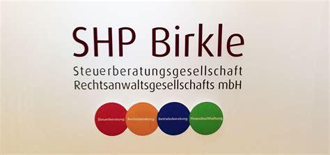 Shp Fauna 1987 71 shp birkle steuerberatungsgesellschaft rechtsanwaltsgesellschaft gmbh shp birkle