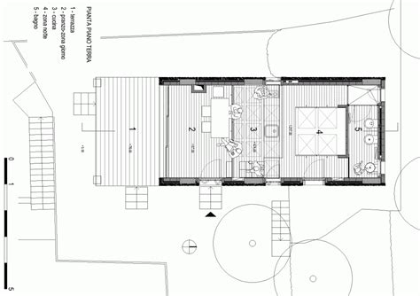 small gallery floor plan gallery tre livelli a studio dwelling with a stepped