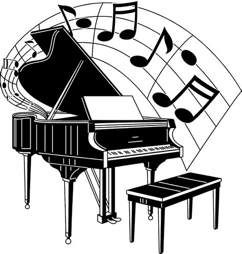 cartoon themes piano piano free stock photo illustration of a piano with