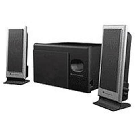 Speaker Komputer Altec Lansing altec lansing vs2121 2 1 computer speaker system 3 speaker
