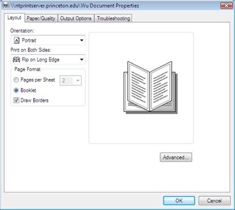 layout for booklet printing printing multiple pages per sheet windows