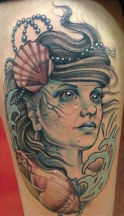 realistic mermaid tattoo siren mermaid tat tattoos siren mermaid