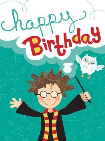 happy birthday  harry potter mischief managed