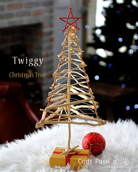 tree made of twigs twiggy tree diy pattern tutorial craft
