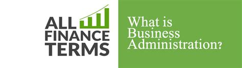 Bba Mba Definition by What Is Business Administration Definition By All