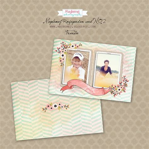 Digital Card Templates For Photographers by Free Digital Card Template For Photographers