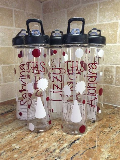 cheap gifts for sports fans personalized water bottles great cheer team gifts on