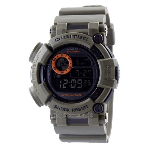 Digitec Digital Army Original digitec dg 2106t green army jam tangan sport anti air murah