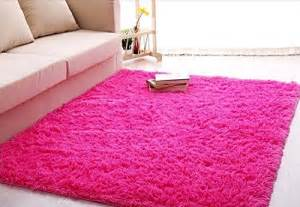 Girls Bedroom Rug Ultra Soft 4 5 Cm Thick Indoor Morden Shaggy Area Rugs