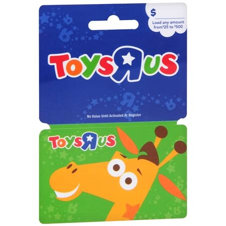 Toys R Us Gift Card Check Balance - toys r us non denominational gift card walgreens