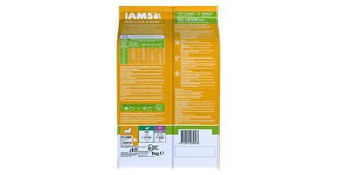 iams small breed puppy food iams proactive health puppy junior small and medium breed rich in chicken pet food