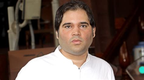 biography of varun gandhi in hindi varun gandhi escapes unhurt after stage collapses during