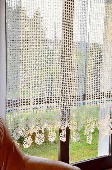 ambientes acogedores las cortinas tejidas  gancho ganchillo cortinas tejidas
