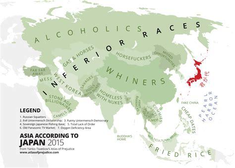 asia map japan atlasofprejudice asia according to japan a maps on