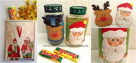 manualidades de navidad con fradcos de gerber frascos de navidad decorados cositasconmesh