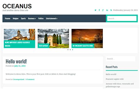 website design by fabthemes 23 kostenlose wordpress themes aus dem februar 2015 dr web