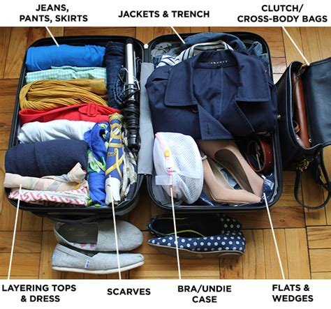 8 Tips To Packing And Travelling Light by Clothes To Bring On Vacation What To Wear