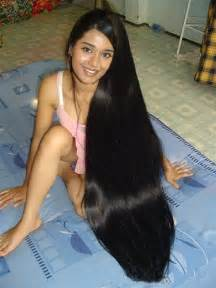 photos of lovely black silky hairs of indian in braidedpony styles floor length hair a gallery on flickr
