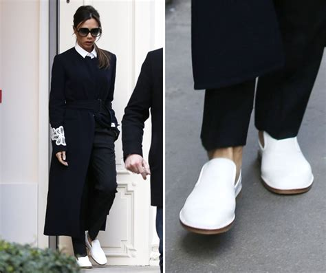 beckham flat shoes beckham lied to us about footwear look