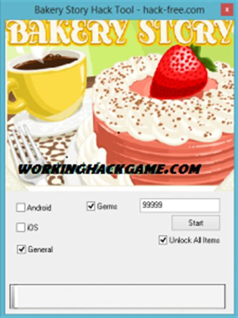 bakery story android game hack cheat download bakery story hack for android ios cheats tool free