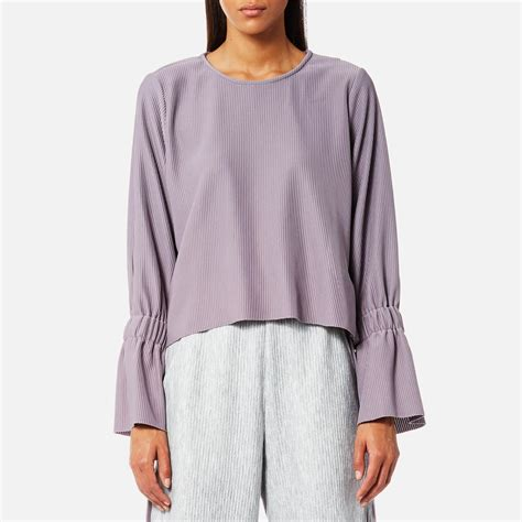 Sale Back Flare Top by Lyst House Of Open Back Top With Flare Sleeves In