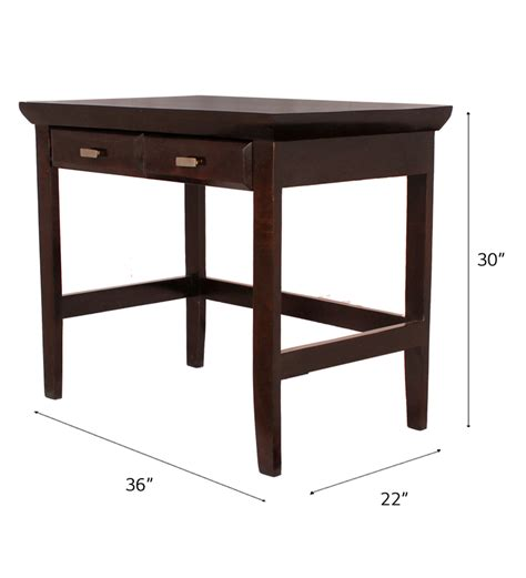 wooden study table mango wood study table by mudramark