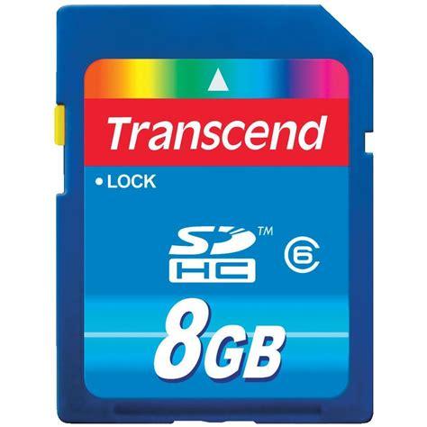 Transcend Microsd 8gb transcend ts8gsdhc6 8gb sd card class 6 from conrad