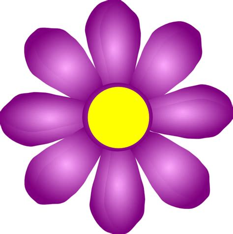 violet clipart violet flower pencil and in color violet