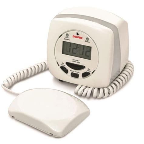 geofire agrippa alarm vibrating pillow alarm care