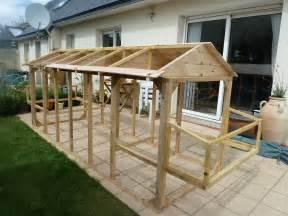 la construction du nouveau poulailler notre jardin