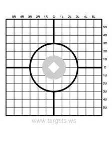 Targets print your own shooting targets