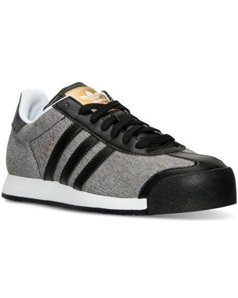 adidas originals s samoa casual sneakers from finish line in black polka dot save 15