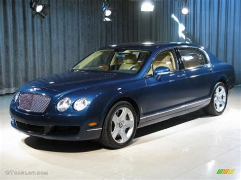 bentley blue color 2008 blue bentley continental flying spur