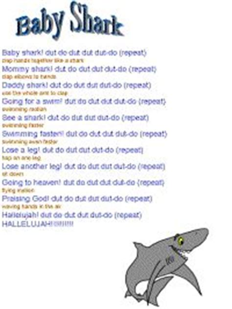 Baby Shark Lyrics Meaning | baby shark thank you bro kevin for teaching me this