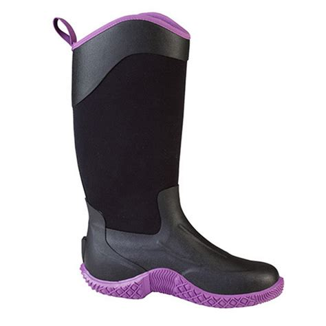 the muck boot company tack ii black purple womens a