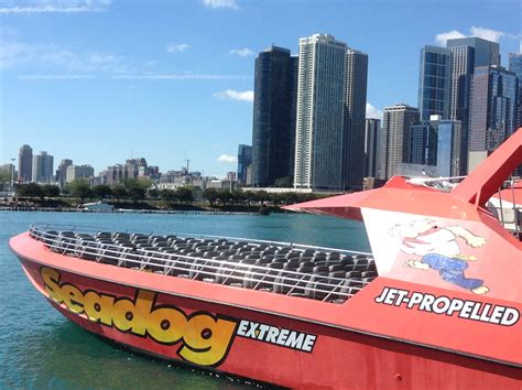 navy pier extreme boat ride the jeep girls explore historic chicago fca north
