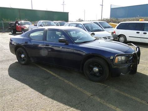 ex cop cars for sale sell used 2006 dodge charger rwd 4 door sedan ex