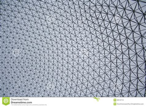cupola geodetica fuller cupola geodetica pi 249 piena di buckminster immagini stock