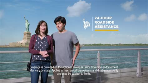 who is lady in liberty mutual commercial liberty mutual insurance tv commercial 24 hour roadside