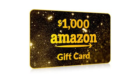 Get Amazon Gift Cards - get a 1000 amazon gift card one field us