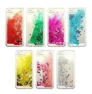 Water Gliteer Hello Iphone 5g 5s liquid glitter bling water clear cover for iphone 5 5s 6 6s ebay