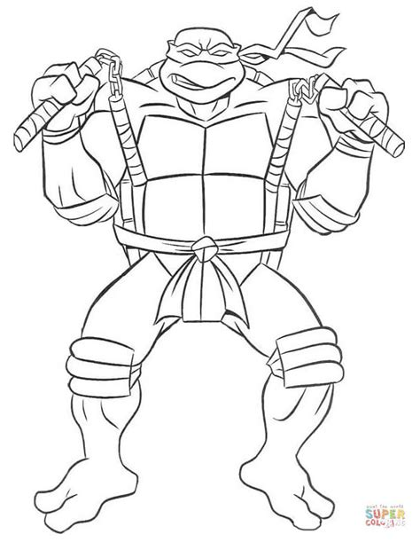 Ninja Turtles Coloring Pages Bestofcoloring Com Mutant Turtles Donatello Coloring Pages