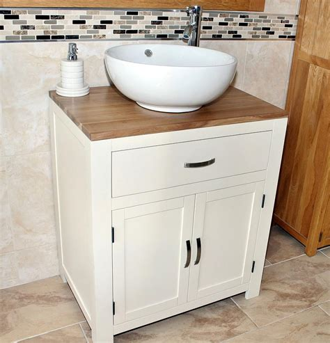 Wash Bowl Vanity Units by Bathroom Vanity Unit Painted Wood Wash Stand White