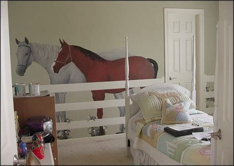 Horse Bedroom | decorating theme bedrooms maries manor horse theme